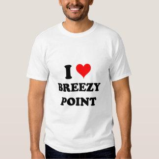 I Love Breezy Point T Shirt