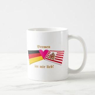 I Love Bremen ist mir lieb Coffee Mugs