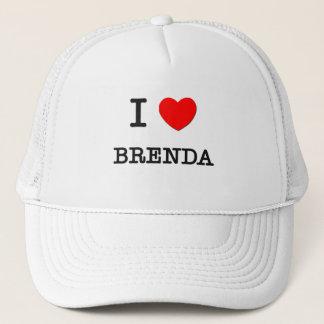 I Love Brenda Trucker Hat