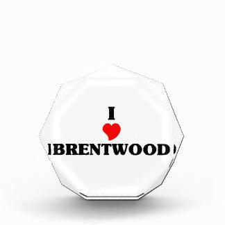 I love Brentwood Ca Award