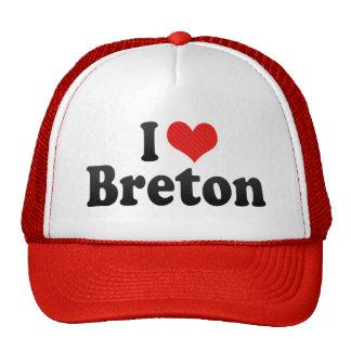 I Love Breton Hat