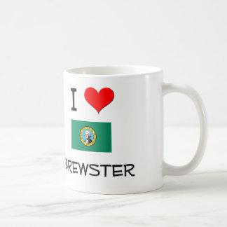 I Love Brewster Washington Coffee Mugs