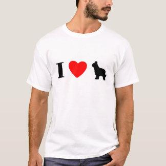 I Love Briards T-Shirt