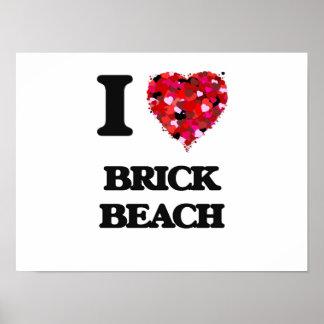 I love Brick Beach New Jersey Poster