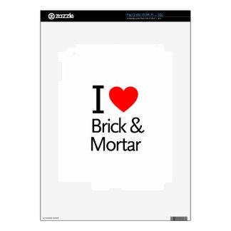 I Love Brick & Mortar iPad 2 Decal