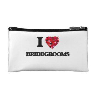 I Love Bridegrooms Cosmetic Bags
