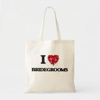 I Love Bridegrooms Budget Tote Bag
