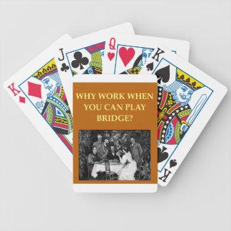 i love bridge card deck