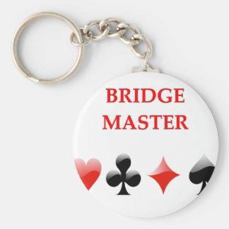 i love bridge keychain