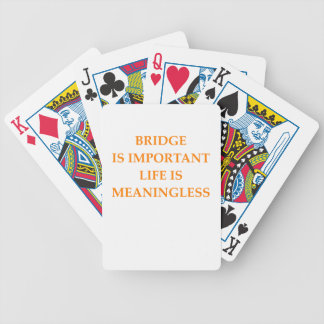 i love bridge poker cards