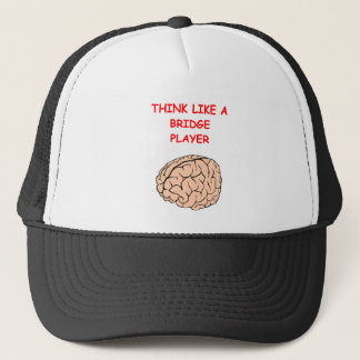 i love bridge trucker hat