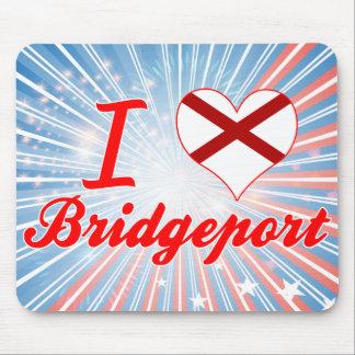 I Love Bridgeport, Alabama Mouse Pad