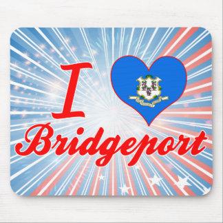 I Love Bridgeport, Connecticut Mousepads