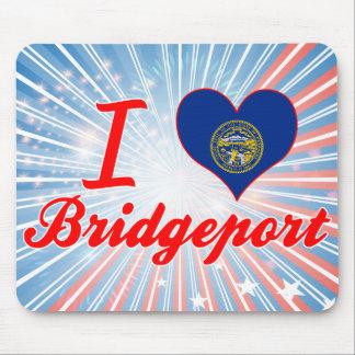 I Love Bridgeport, Nebraska Mouse Pad