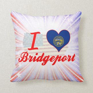 I Love Bridgeport, Nebraska Pillow