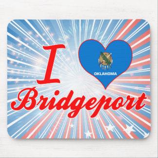 I Love Bridgeport, Oklahoma Mouse Pad