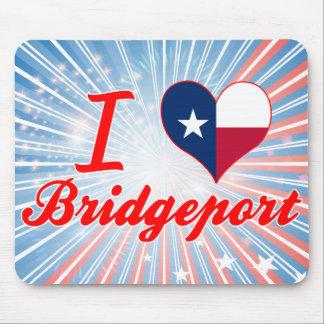 I Love Bridgeport, Texas Mouse Pad