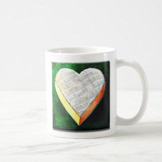 I Love Brie Cheese Coffee Mug
