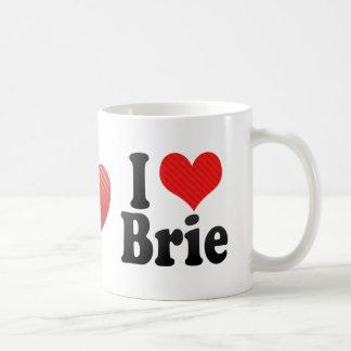 I Love Brie Classic White Coffee Mug