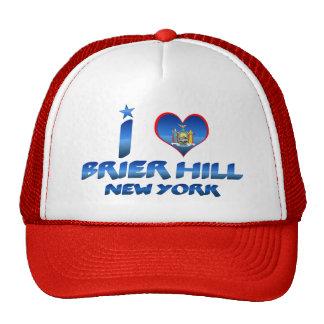 I love Brier Hill, New York Mesh Hat