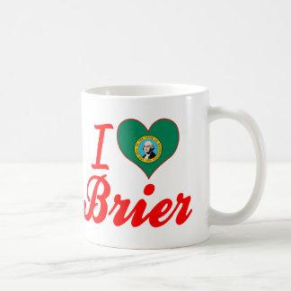 I Love Brier, Washington Classic White Coffee Mug
