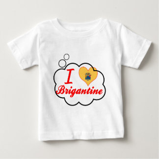 I Love Brigantine, New Jersey Baby T-Shirt