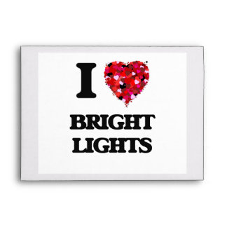 I Love Bright Lights Envelope