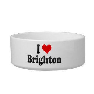 I Love Brighton, United Kingdom Cat Water Bowls