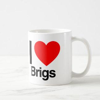 i love brigs coffee mug