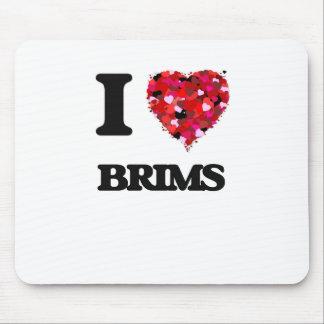 I Love Brims Mouse Pad