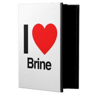 i love brine iPad air case