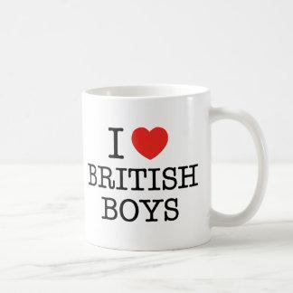 I Love British Boys Coffee Mug