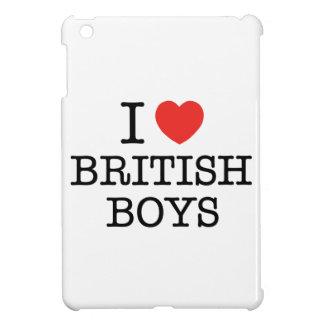 I Love British Boys iPad Mini Cases