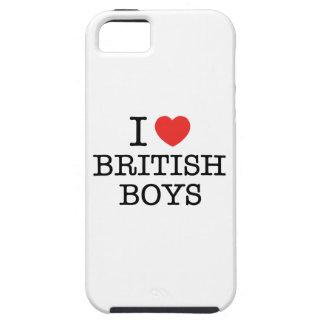 I Love British Boys iPhone SE/5/5s Case