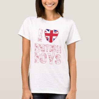 i love british boys T-Shirt