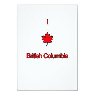 I Love British Columbia Card