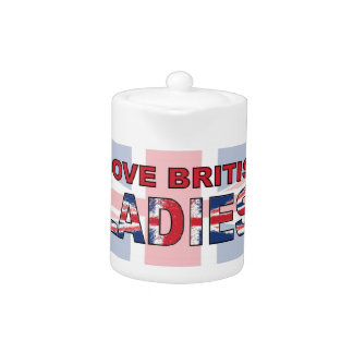 I love British ladies Teapot