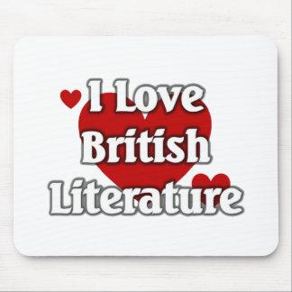I love British Literature Mouse Pad