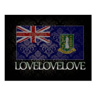 I love British Virgin Islands Cool Postcard