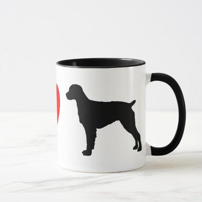 I Love Brittany Spaniels Mug