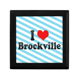 I Love Brockville Canada Jewelry Boxes