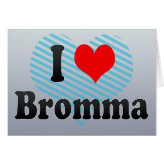 I Love Bromma, Sweden Card