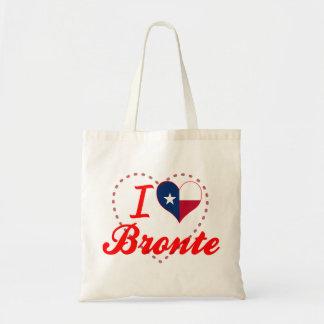 I Love Bronte, Texas Canvas Bag