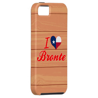 I Love Bronte, Texas iPhone 5 Covers