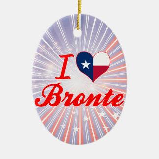 I Love Bronte, Texas Ornament