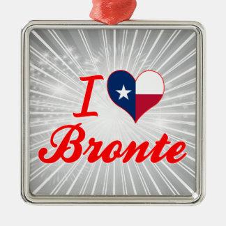 I Love Bronte, Texas Christmas Ornaments