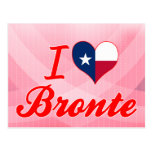 I Love Bronte, Texas Post Cards