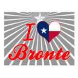 I Love Bronte, Texas Postcards