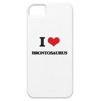 I Love Brontosaurus iPhone 5 Cover
