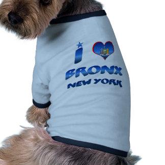 I love Bronx, New York Dog Clothes